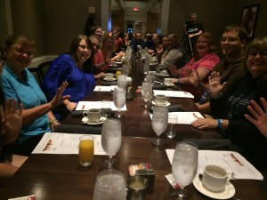 A Saturday morning breakfast led by 21 Stargate readers who shared their tales of how they discovered the franchise.