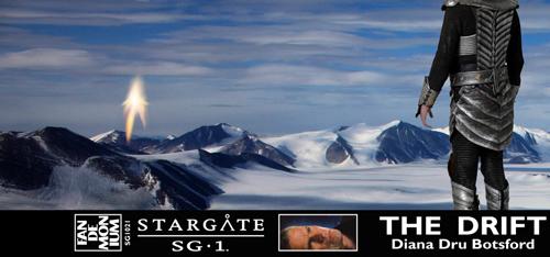 Lord Yu's Dragon Guard at Antarctica's Ferrar Glacier